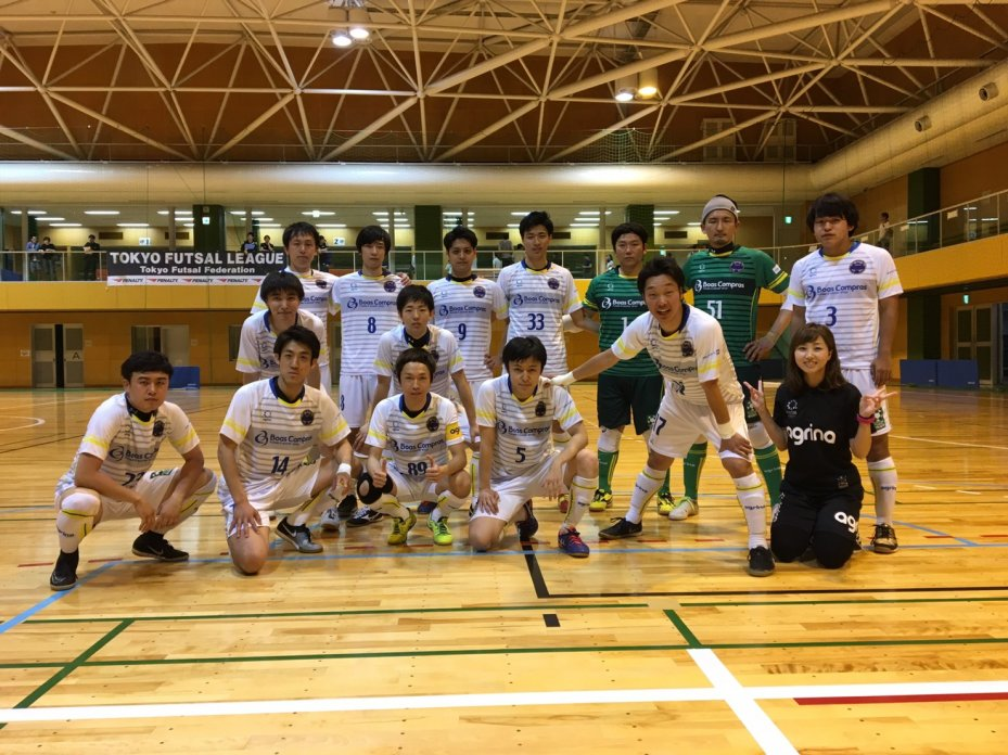 東京都1部リーグ第3節の結果