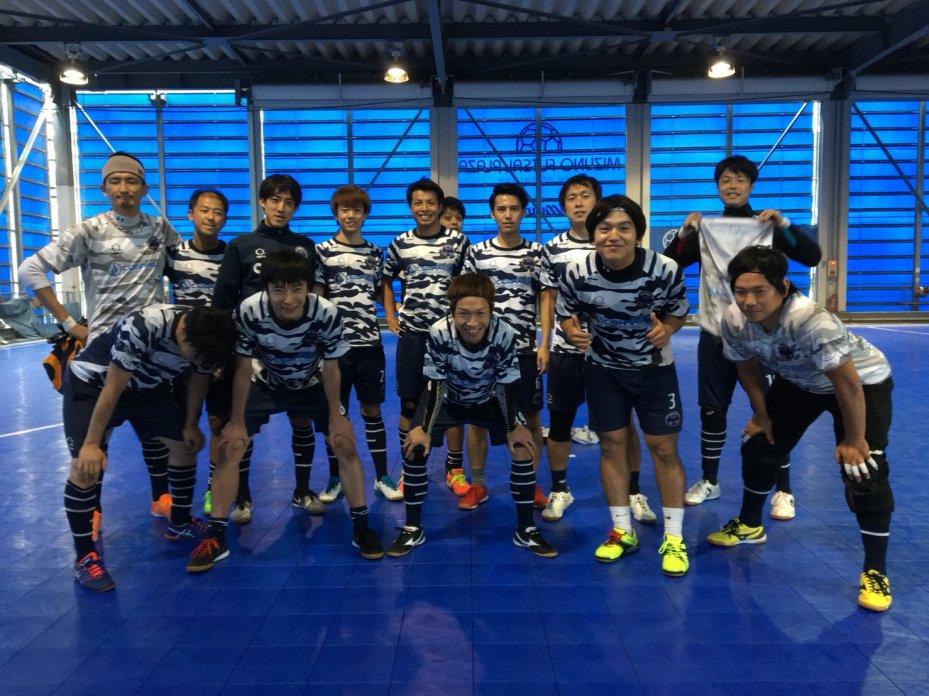 Celsus Futsalと練習試合の結果